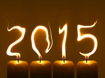 Happy new year 2015 - Pour Feliciter 2015 Royalty Free Stock Photo