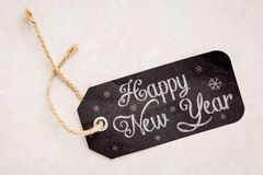 HappY new Year price tag Royalty Free Stock Photography