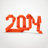 Happy New 2014 year Stock Photos