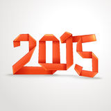 Happy New 2015 year Stock Photography