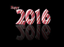 Happy new year 2016 resolutions. Stock Photo