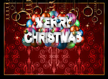 2017 Happy New Year Restaurant Menu Template for your Seasonal Flyers. And Greetings Card or Christmas themed invitations backgrounds Stock Images