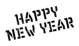 Happy New Year rubber stamp Royalty Free Stock Photo