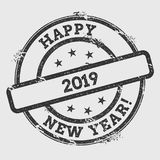 Happy 2019 New Year!. Stock Photography