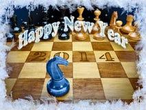 Happy New Year 2014 Stock Photos