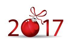 Happy New 2017 year. Seasons greetings. Happy New 2017 year Stock Photo