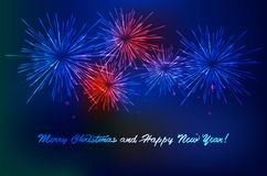 Happy New 2018 Year. Royalty Free Stock Photos