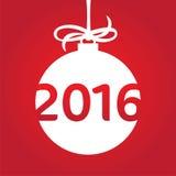 Happy new 2016 year Royalty Free Stock Photos
