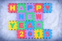 Happy New Year 2015 Stock Photography
