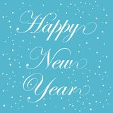 Happy New Year. Simple vector icon Royalty Free Stock Images