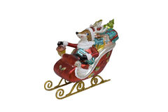 Happy New Year 2015 Sleds Stock Photos
