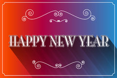 Happy New Year Slogan Vector Stock Photos