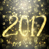Happy New Year sparkle background Royalty Free Stock Photography