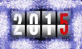 Happy New Year 2015 Royalty Free Stock Photo