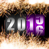 Happy New Year 2016 Stock Photos