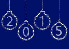 Happy New Year 2015 From Stars. Royalty Free Stock Image