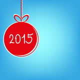 Happy new year 2015 -  stock. With back drop Royalty Free Stock Image