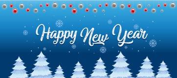 Happy new year template. Illustration vector illustration