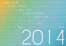 Happy new year text abstract background Royalty Free Stock Photo