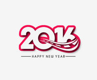 Happy new year 2016 Royalty Free Stock Photography