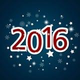 Happy New Year Text Design Stock Photos