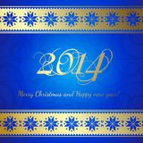 Happy new year. Happy new year 2014 text design. Vector illustration Stock Illustration