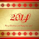 Happy new year. Happy new year 2014 text design. Vector illustration Stock Images