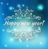 Happy new year 2015 Text Design. Vector illustration of Happy new year 2015 Text Design Royalty Free Stock Photos