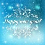 Happy new year 2015 Text Design. Vector illustration of Happy new year 2015 Text Design Stock Images