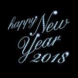Happy 2018 Stock Images