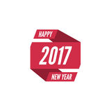 Happy new year 2017 theme. For greeting card, flyer, invitation, poster, brochure, banner, calendar Christmas Meeting events Stock Photos
