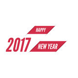 Happy new year 2017 theme. For greeting card, flyer, invitation, poster, brochure, banner, calendar Christmas Meeting events Stock Image