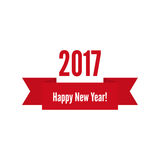 Happy new year 2017 theme. For greeting card, flyer, invitation, poster, brochure, banner, calendar Christmas Meeting events Vector Royalty Free Stock Image