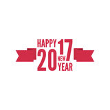 Happy new year 2017 theme Royalty Free Stock Image