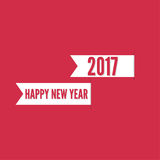 Happy new year 2017 theme. For greeting card, flyer, invitation, poster, brochure, banner, calendar Christmas Meeting events Vector Royalty Free Stock Images
