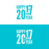 Happy new year 2017 theme Stock Photo