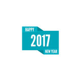 Happy new year 2017 theme. For greeting card, flyer, invitation, poster, brochure, banner, calendar Christmas Meeting events Vector Stock Photography