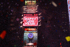 Happy New Year Times Square Royalty Free Stock Images