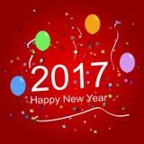 2017 Happy New Year Royalty Free Stock Photos