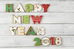 Happy New 2018 Year Royalty Free Stock Images