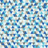 Happy New Year triangle vector background, blue and grey geometric winter holiday pattern. Happy New Year triangle vector background. Winter holiday pattern Royalty Free Stock Images