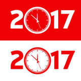 Happy New Year 2017. Stock Photo
