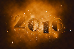 2016 happy new year. Happy new year for the upcoming year 2016 Royalty Free Stock Photo
