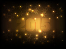 Happy New Year 2015_03 Royalty Free Stock Image