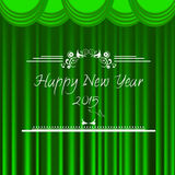 Happy new year 2015 vector background Royalty Free Stock Image