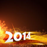 2014 happy new year. Vector beautiful 2014 background with space for your text royalty free illustration