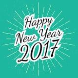 Happy new year 2017_1 Royalty Free Stock Photos