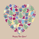 Happy New Year 1-04 Stock Photography