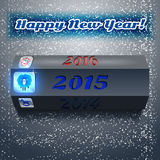 Happy New Year 2015 vector Stock Photos