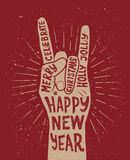 Happy New Year vector Royalty Free Stock Photo